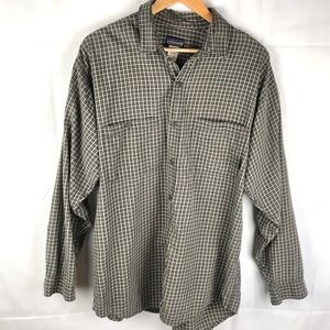 PATAGONIA Organic Cotton western plaid L